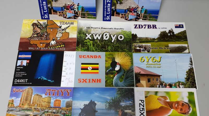 QSL Bureau – October