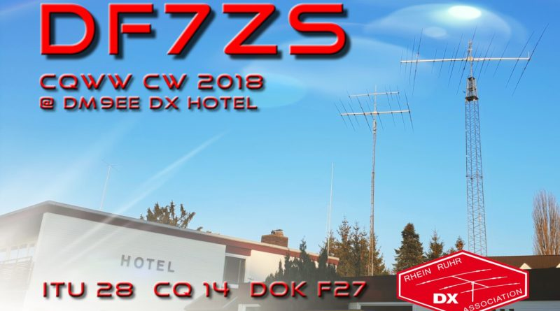 CQ WW CW 2018 – DF7ZS P1 DL SO(A) Low Power