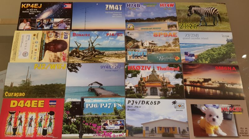 Bureau QSL April