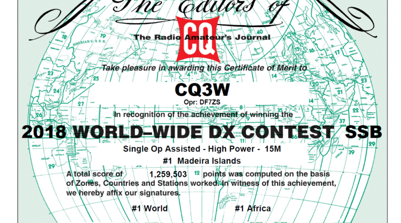 CQ WW SSB 2018 – final