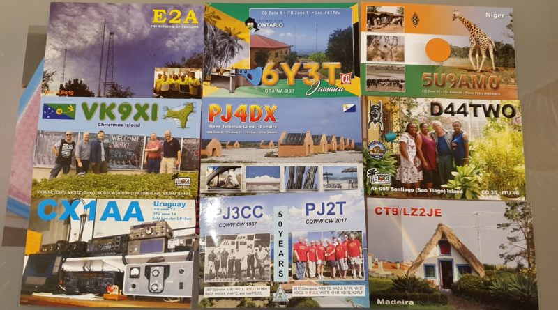 QSL Bureau May and June