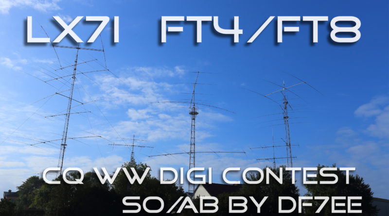 CQ WW DIGI from LX7I