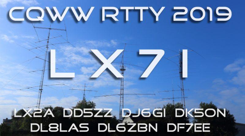CQ WW RTTY 2019 @ LX7I